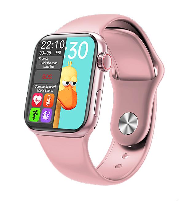"HIFUTURE smartwatch HITime Mini, 1.57"", IP67, HR & Blood pressure, ροζ - HIFUTURE 36409"