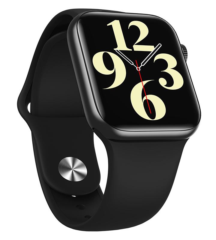 "HIFUTURE smartwatch HITime SE, 1.72"", IP67, HR & Blood pressure, μαύρο - HIFUTURE 36410"