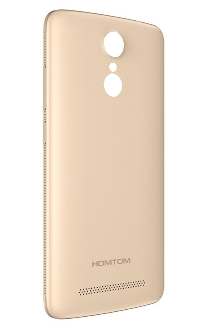 HOMTOM Battery Cover για Smartphone HT17, Gold - HOMTOM 10476