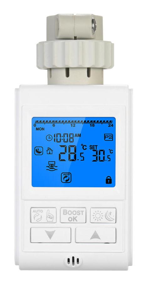 HYSEN Έξυπνη θερμοστατική βαλβίδα καλοριφέρ HY10, Zigbee - HYSEN 27685
