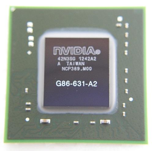 NVIDIA BGA IC Chip G86-631-A2, with Balls - NVIDIA 7140