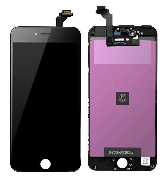 TW INCELL LCD ILCD-001 για iPhone 6, camera-sensor ring, earmesh, μαύρη - TW INCELL 30143