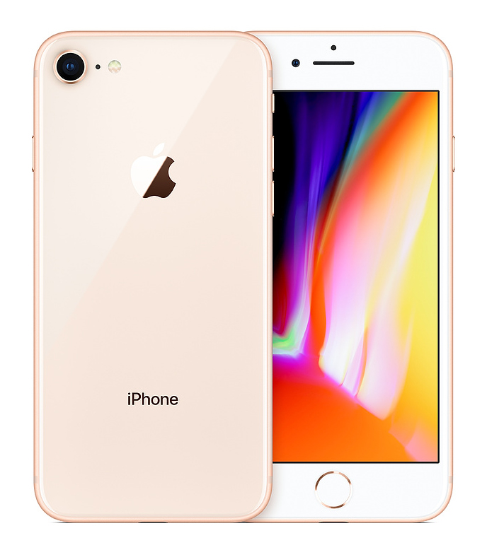 "APPLE used Smartphone iPhone 8, 4.7"" IPS, 2/64GB, rose gold, SQ - APPLE 36758"