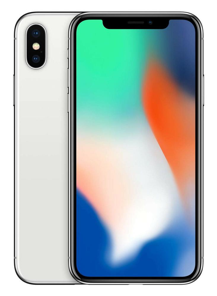 """APPLE used Smartphone iPhone Χ, 5.8"""" OLED, 3/256GB, ασημί, SQ - APPLE 36761"""