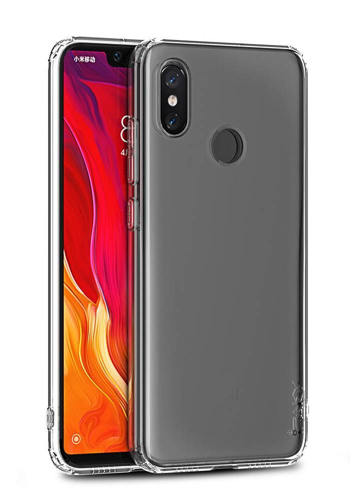IPAKY Θήκη Effort TPU & tempered glass για Xiaomi Redmi S2, διάφανη - IPAKY 22319