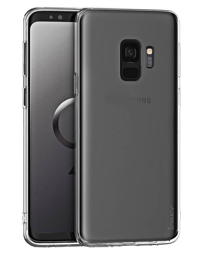 IPAKY Θήκη Effort TPU & tempered glass Samsung Galaxy A6 Plus 2018 - IPAKY 22324