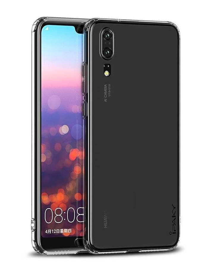 IPAKY Θήκη Effort TPU & tempered glass Huawei Y5 2018, διάφανη - IPAKY 22326