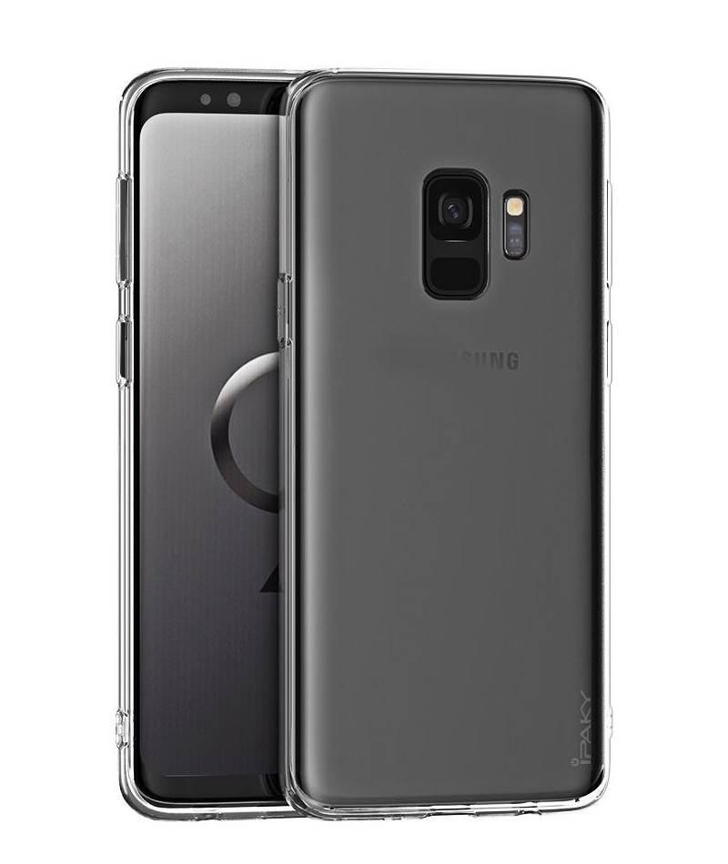 IPAKY Θήκη Effort TPU & tempered glass Samsung Galaxy J7 2017, διάφανη - IPAKY 22327