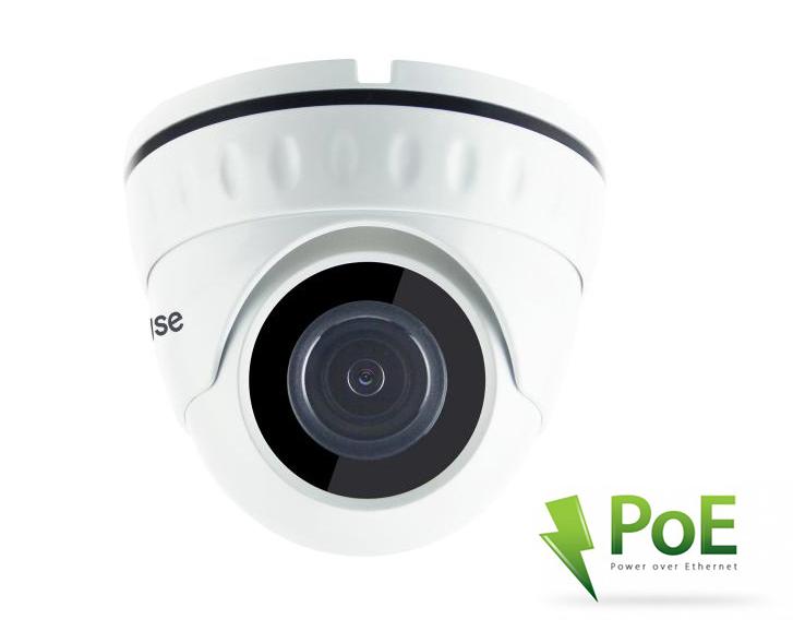 LONGSE IP POE Dome Κάμερα 1080p, 3.6mm, 3MP, IR 25M, αδιάβροχη - LONGSE 18377