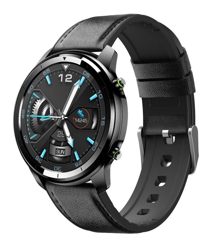 """ΙΝΤΙΜΕ Smartwatch H15 Pro 1.3"""" έγχρωμο, IP67, HR & Blood pressure, μαύρο - INTIME 31182"""