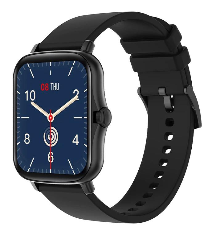 """ΙΝΤΙΜΕ smartwatch P8 Plus 1.69"""" έγχρωμο IP67, HR & Blood pressure, μαύρο - INTIME 41610"""