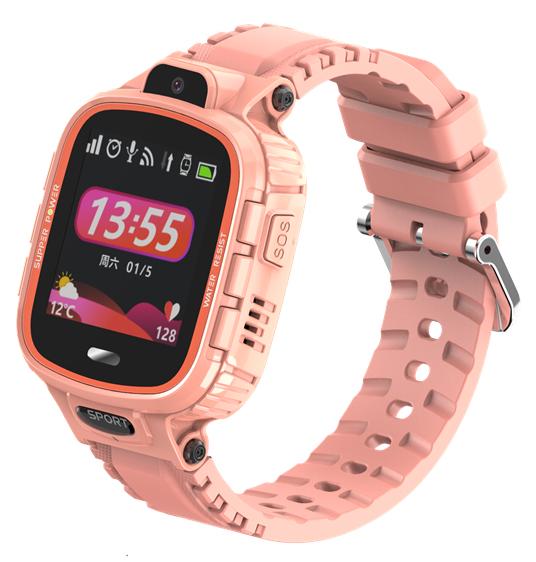 "INTIME smartwatch IT-039, 1.44"", IP67, HD camera, GPS, ροζ - INTIME 41660"