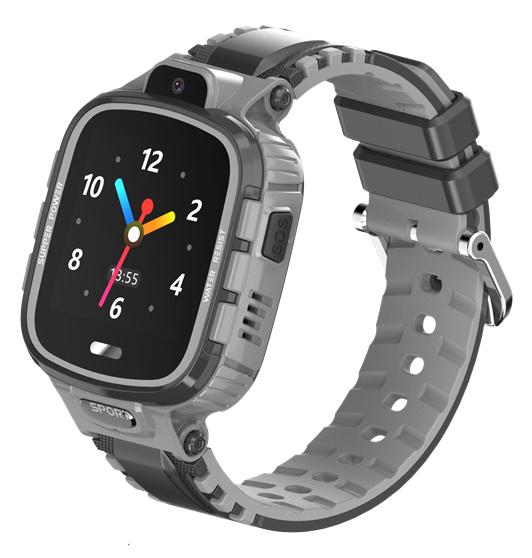 "INTIME smartwatch IT-040, 1.44"", IP67, HD camera, GPS, γκρι - INTIME 41661"