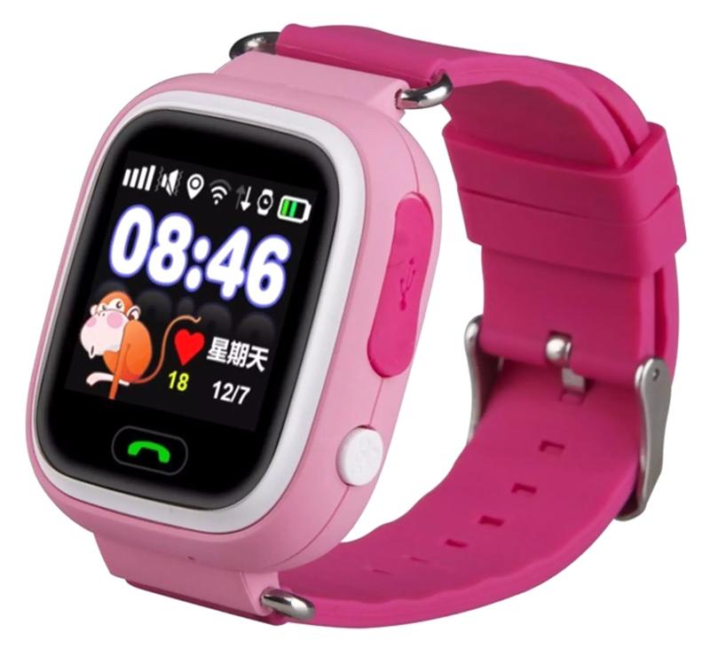 "INTIME smartwatch IT-041, 1.22"", GPS, ροζ - INTIME 41662"