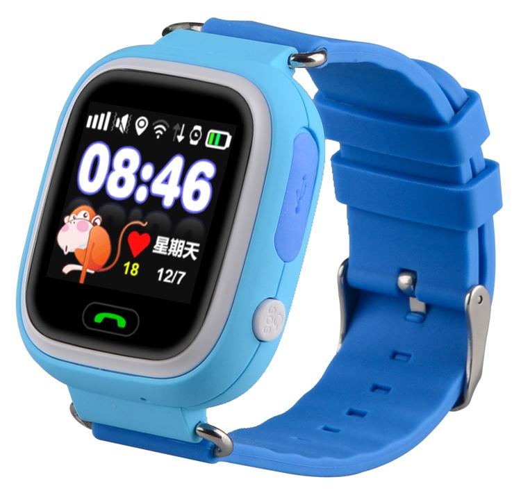 "INTIME smartwatch IT-042, 1.22"", GPS, μπλε - INTIME 41663"