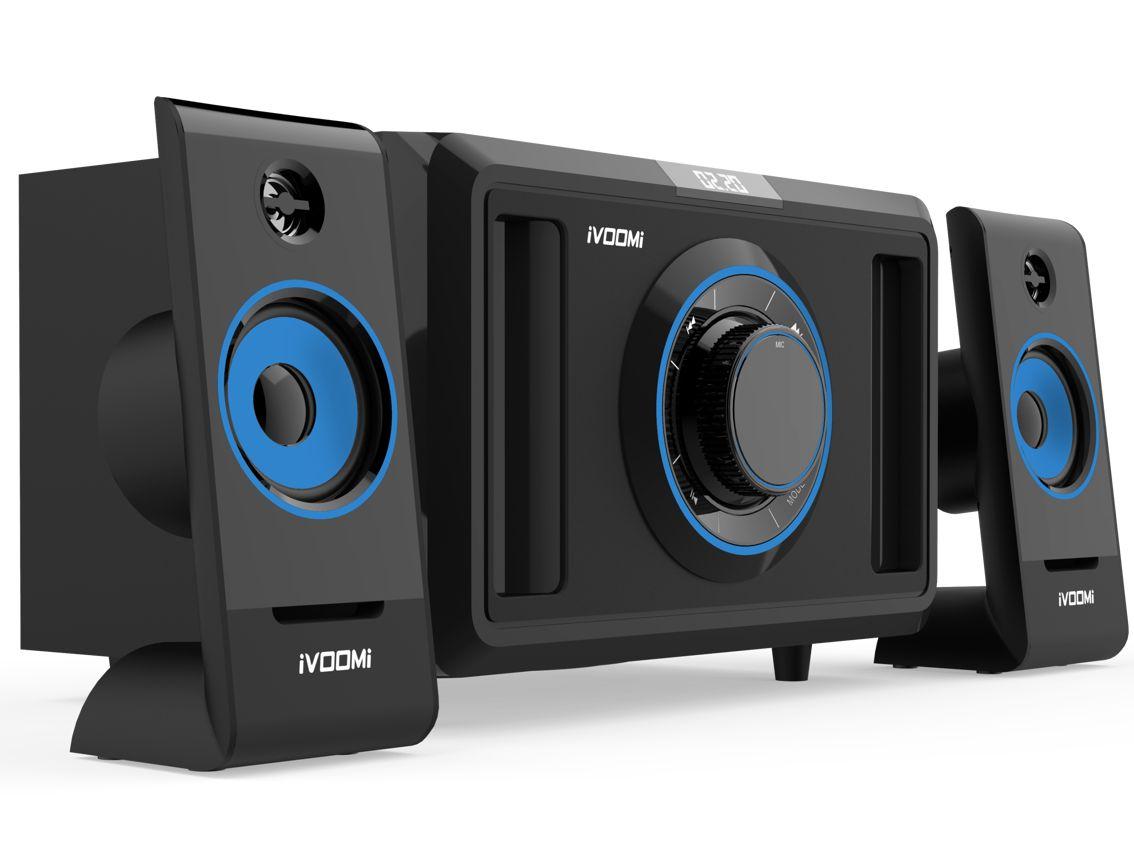 IVOOMi ηχεία iVO-2590 SUF 2.1ch, USB/SD/FM, 30W + 10Wx2, Τηλεχειριστήριο - iVOOMi 9770