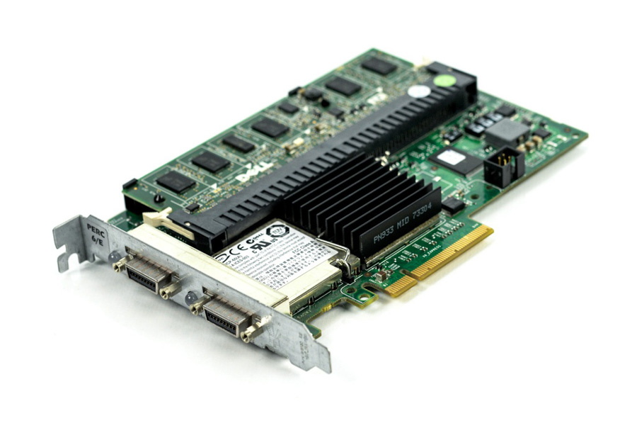 DELL used Raid controller PCI-E PERC 6/E 512MB SAS 6G - DELL 18817