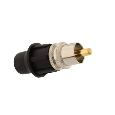 TELECOM RCA male universal connector, with CaP 5 ΤΕΜ. - TELECOM 10135