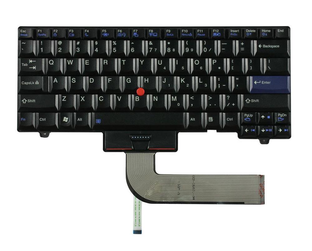 Πληκτρολόγιο για Lenovo Thinkpad L410 L510, US, Black - UNBRANDED 11567