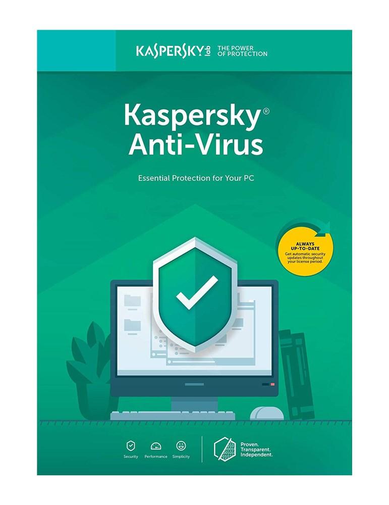 KASPERSKY Anti-Virus 2019, 3 συσκευές, 1 έτος, EU, key - KASPERSKY 23488
