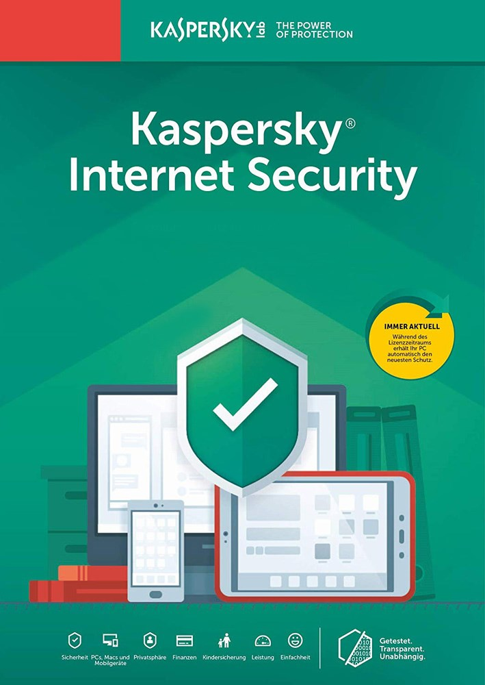 KASPERSKY Internet Security KL1939U5KFS-20FFP, 10 συσκευές, 1 έτος, EU - KASPERSKY 26995