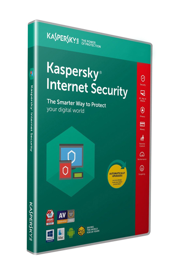 KASPERSKY Internet Security 2019, 1 Άδεια, 1 έτος, EU - KASPERSKY 21934