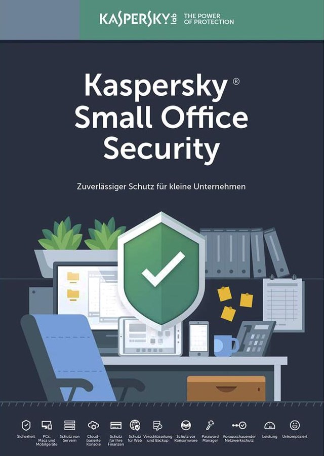 KASPERSKY Small Office Security 2019, 5 συσκευές & 1 server, 1 έτος, EU - KASPERSKY 22525
