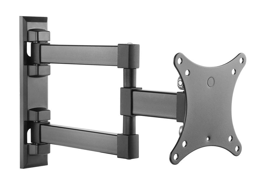 "BRATECK Επιτοίχια Βάση Διπλού Βραχίονα για Monitor 13"" - 27"", 20kg - BRATECK 16127"