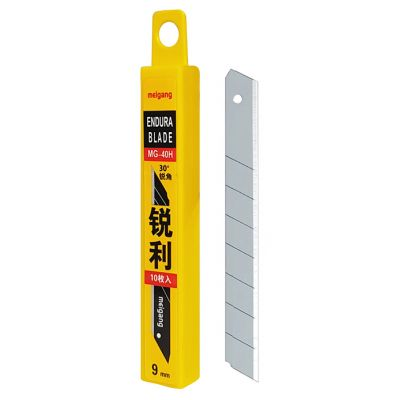 POWERTECH Ανταλλακτικές λεπίδες KNF-0006, 9mm, 10τμχ - POWERTECH 29357