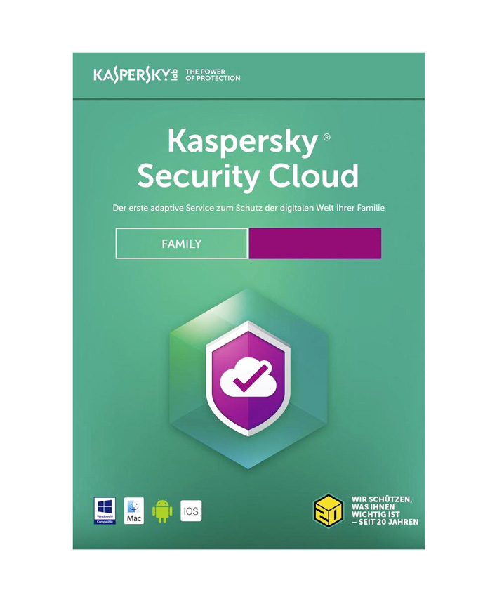 KASPERSKY Security Cloud, 20 συσκευές, 20 χρήστες, 1 έτος, English - KASPERSKY 18451
