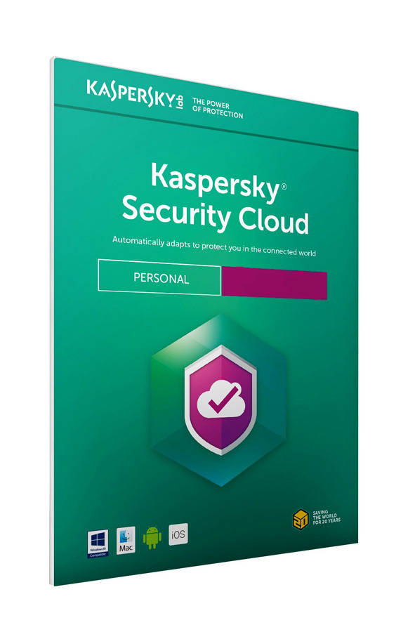 KASPERSKY Security Cloud, 5 συσκευές, 1 χρήστης, 1 έτος, English - KASPERSKY 18450
