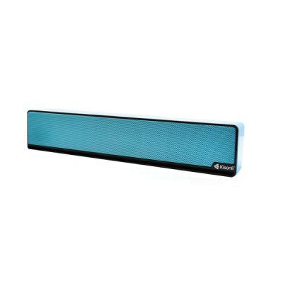 KISONLI Multimedia Ηχείο i-510, 2.0ch, 2x 3W, USB, μπλε - KISONLI 20156