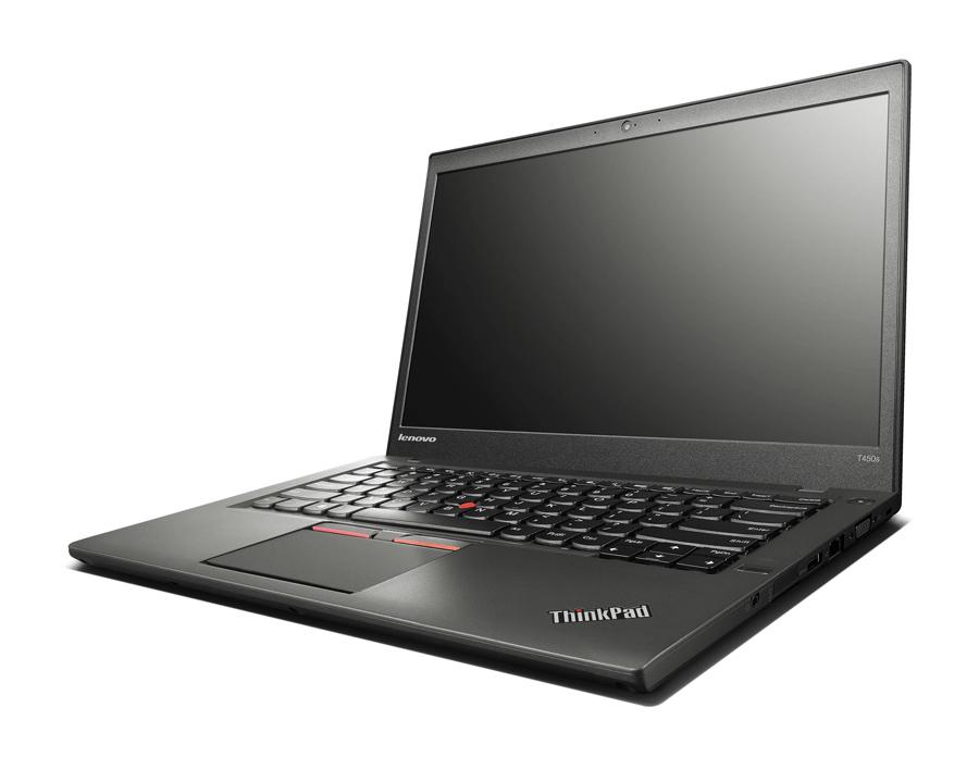 "Lenovo Laptop ThinkPad T450s, i7-5600U, 12GB, 256GB SSD, 14"", Cam, SQ - LENOVO 34831"