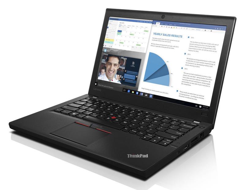 """Lenovo ThinkPad X260, i7-6600U, 8GB, 256GB SSD, 12.5"""", CAM, SQ - LENOVO 34836"""