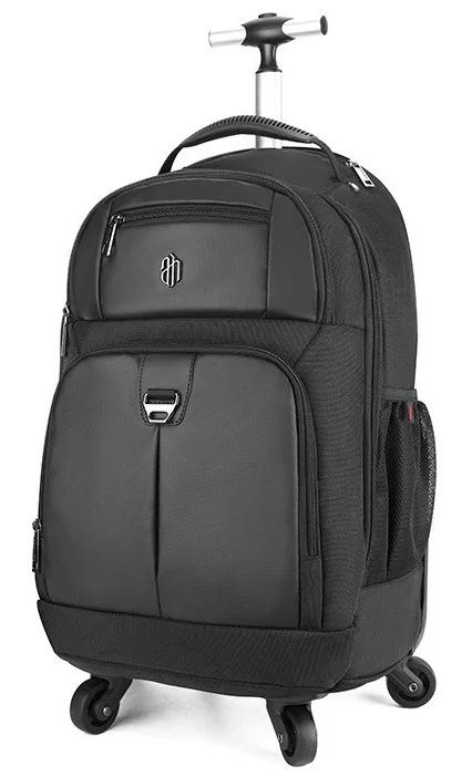 ARCTIC HUNTER τσάντα ταξιδίου LG1500165-BK τροχήλατη, θήκη laptop, μαύρη - ARCTIC HUNTER 28247