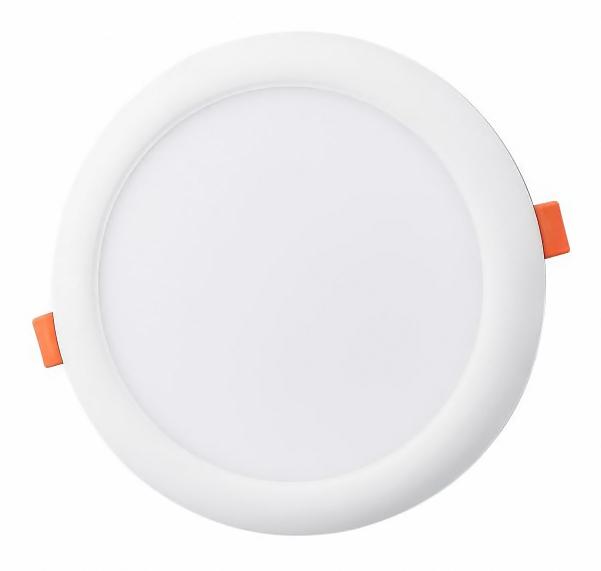 LIPER LED Panel LP-DL18EC01-Y, 18W, χωνευτό, 6500K, Φ22, λευκό, 2τμχ - LIPER 35940