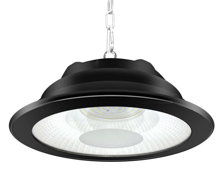LIPER LED προβολέας LPHB-100D01 100W, 9500lmn, 6500K, IP65, Φ34, μαύρος - LIPER 35946