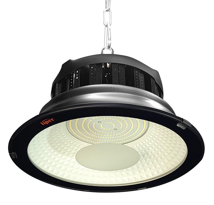 LIPER LED προβολέας LPHB-200D01 200W, 19000lmn, 6500K, IP65, Φ34, μαύρος - LIPER 35948