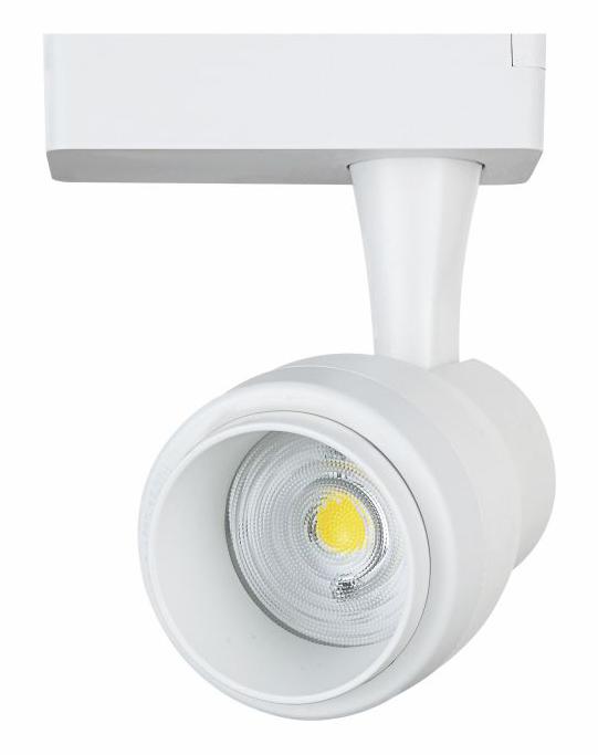 LIPER LED track light LPTRL-15E02, IP20, 15W 4000K, μεταλλικό, λευκό - LIPER 35957