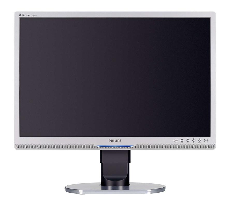 "PHILIPS used Οθόνη 220BW LCD, 22"" 1680 x 1050, VGA/DVI-D, MU, FQ - PHILIPS 15730"