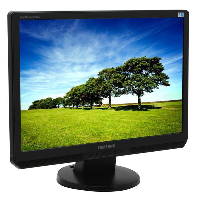 "SAMSUNG used Οθόνη 220WM LCD, 22"" 1680x1050px, VGA/DVI-D, FQ - SAMSUNG 37400"