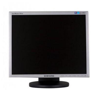 "SAMSUNG used Οθόνη 743BM LCD, 17"" 1280 x 1024, VGA/DVI-D, Black/Silver, FQ - SAMSUNG 15697"
