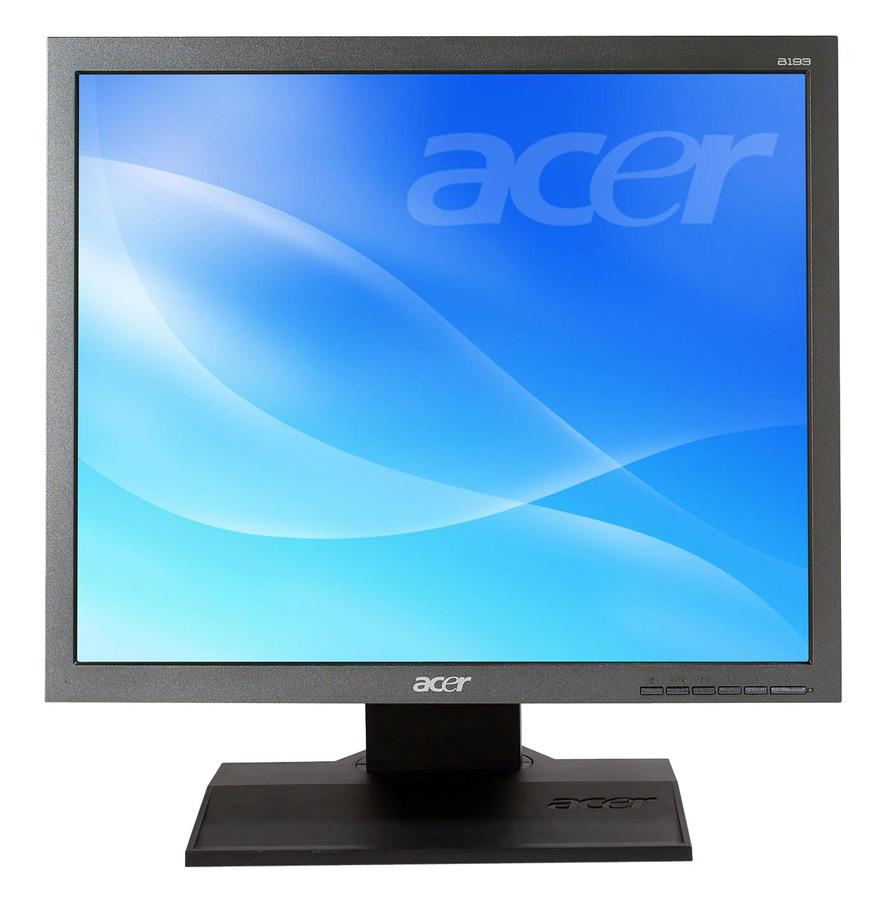 "ACER used Οθόνη B193 LCD, 19"" 1280 x 1024, VGA/DVI-D, Black, SQ - ACER 15412"