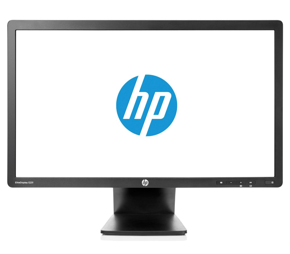 "HP used Οθόνη E231 LCD, 23"" Full HD, Display Port/VGA/DVI-D/USB, FQ - HP 18416"