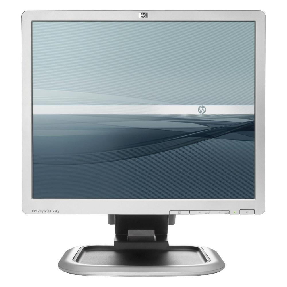 "HP used Οθόνη LA1951G LCD, 19"" 1280 x 1024, VGA, DVI-D, 2x USB - HP 10506"