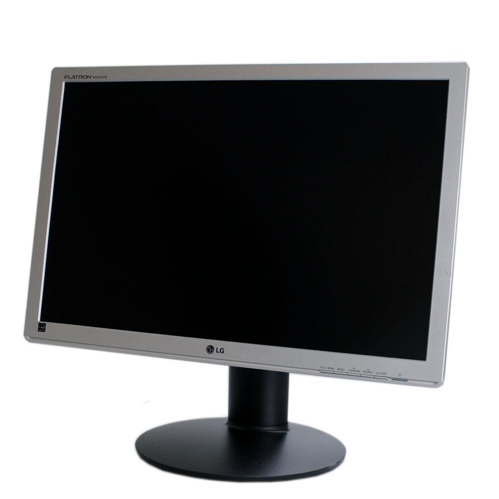 """LG used Οθόνη Flatron W2242PK, 22"""" 1680 x 1050, DVI-D/VGA, με ηχεία, FQ - LG 23414"""