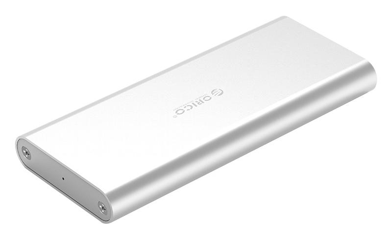ORICO θήκη για Μ.2 B key SSD M2G-U3, USB 3.0, 5Gbps, 2TB, ασημί - ORICO 37189