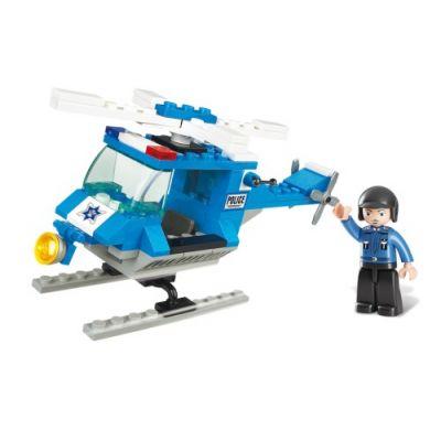 SLUBAN Τουβλάκια Town, Police Helicopter M38-B0175, 85τμχ - SLUBAN 17929