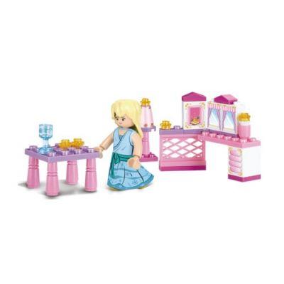 SLUBAN Τουβλάκια Girls Dream, Princess M38-B0238, 35τμχ - SLUBAN 17937