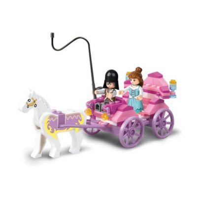 SLUBAN Τουβλάκια Girls Dream, Princess Carriage M38-B0239, 99τμχ - SLUBAN 17938
